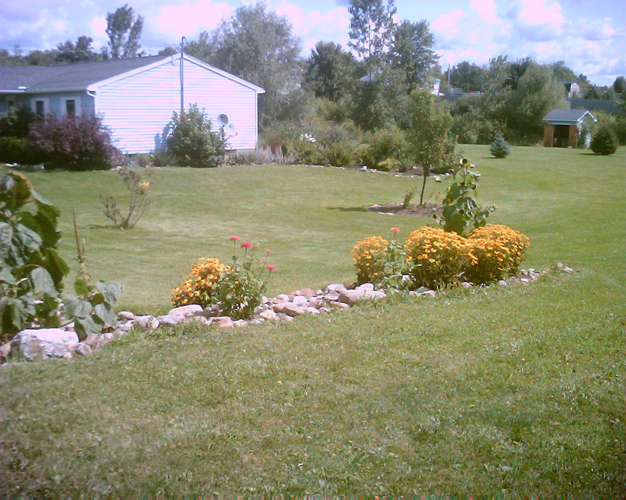 rock garden side